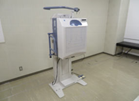 胸部レントゲン室
